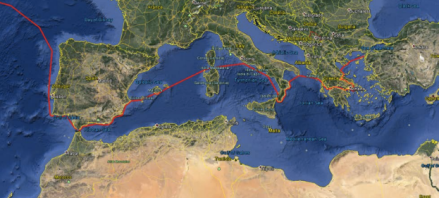 Morocco to Gallipoli leg