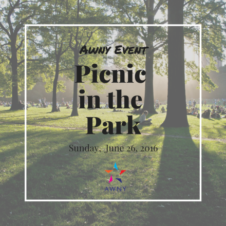 AWNY Picnic in the Park June 26, 2016
