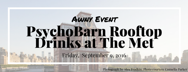 AWNY Event: PsychoBarn Rooftop Drinks at The Met