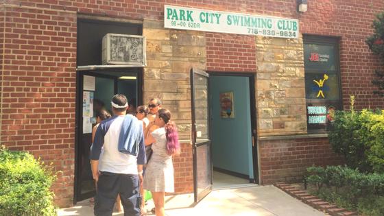 Secret Pools Forest Hills Queens Park City Swim Entrance