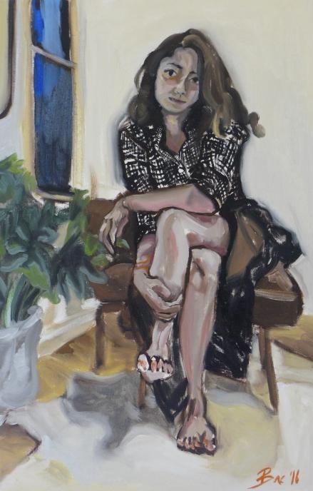 self-portrait-courtney-bae-oil-on-linen-30x20