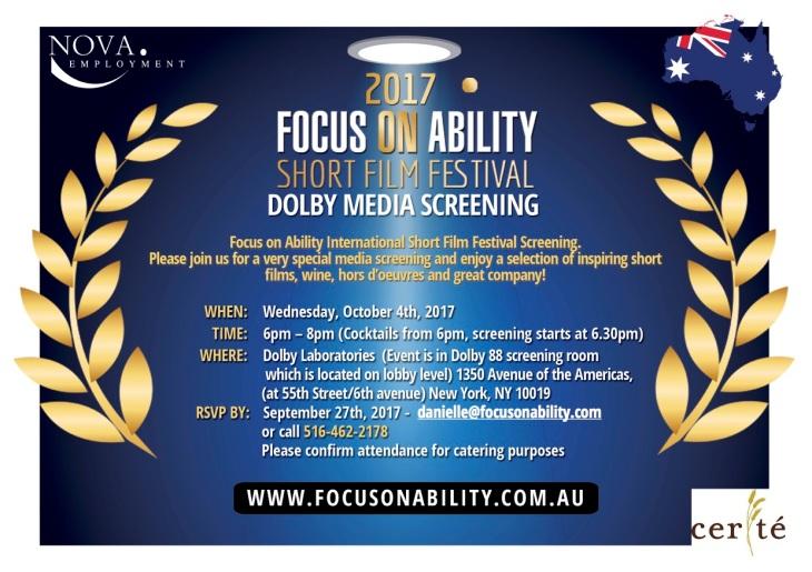 2017 FOA Dolby Media Screening