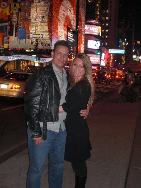 Danielle & Bill Times Square