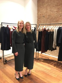 Melinda Robertson kindly hosted AWNY at the new Scanlan Theodore SoHo store at 117 Prince Street New York
