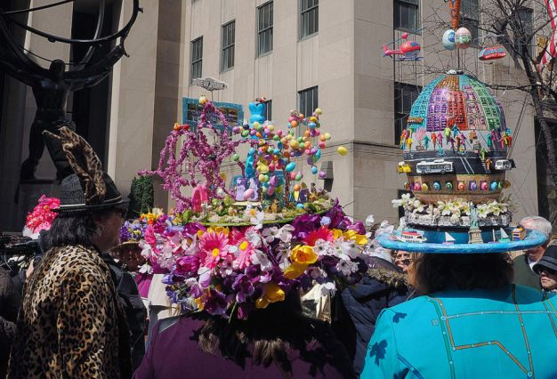 Easter Bonnet Parade in New York City