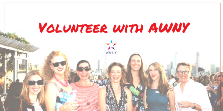 volunteer with AWNY at Annual General Meeting 2018
