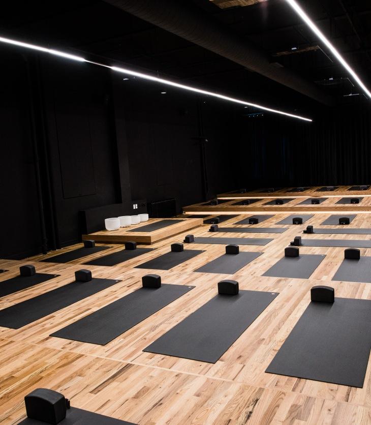Humming Puppy yoga studio New York