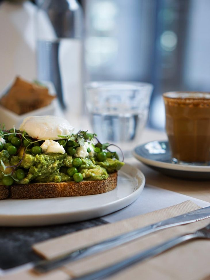 Boundless Plains Espresso Avocado Toast