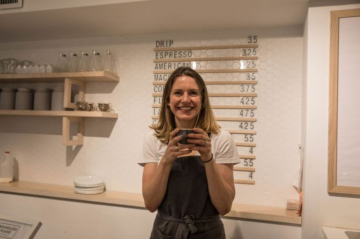 Jo Black, owner of Boundless Plains Espresso