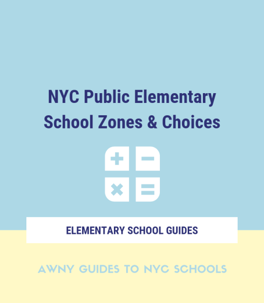 New York elementary school zones choices