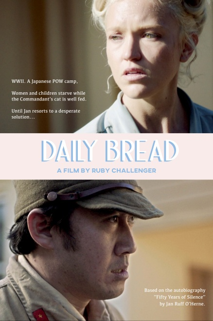 poster of the film Daily Bread showing a woman and a Japanese soldier