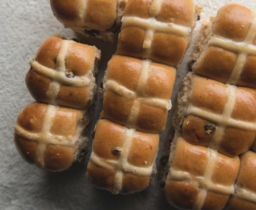 hot cross buns easter buns