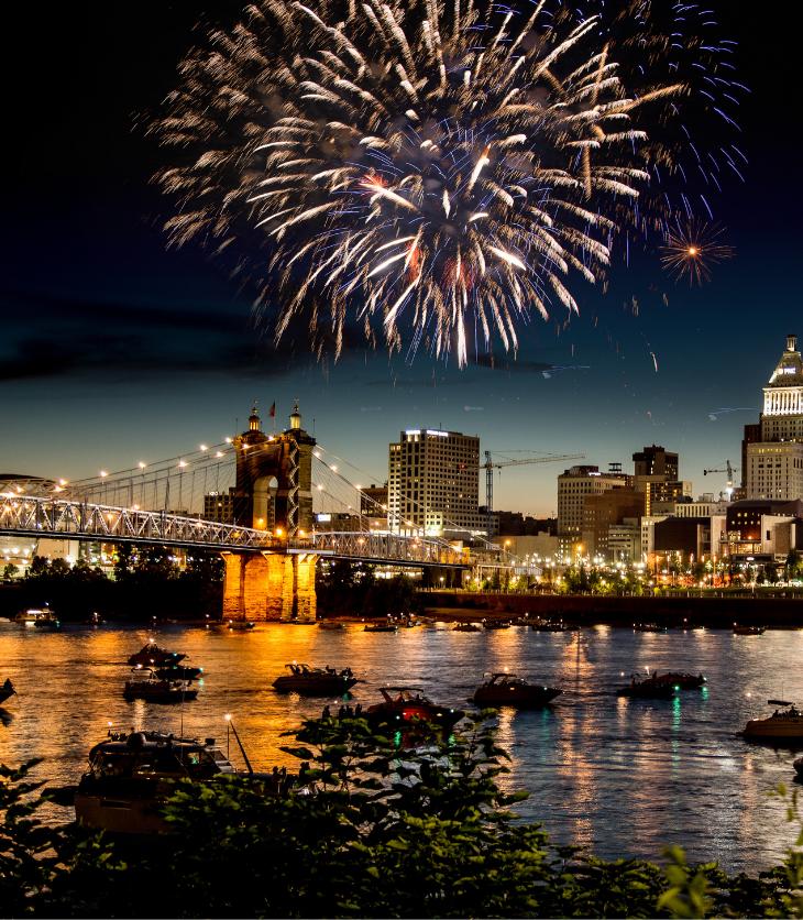July Fourth Fireworks New York