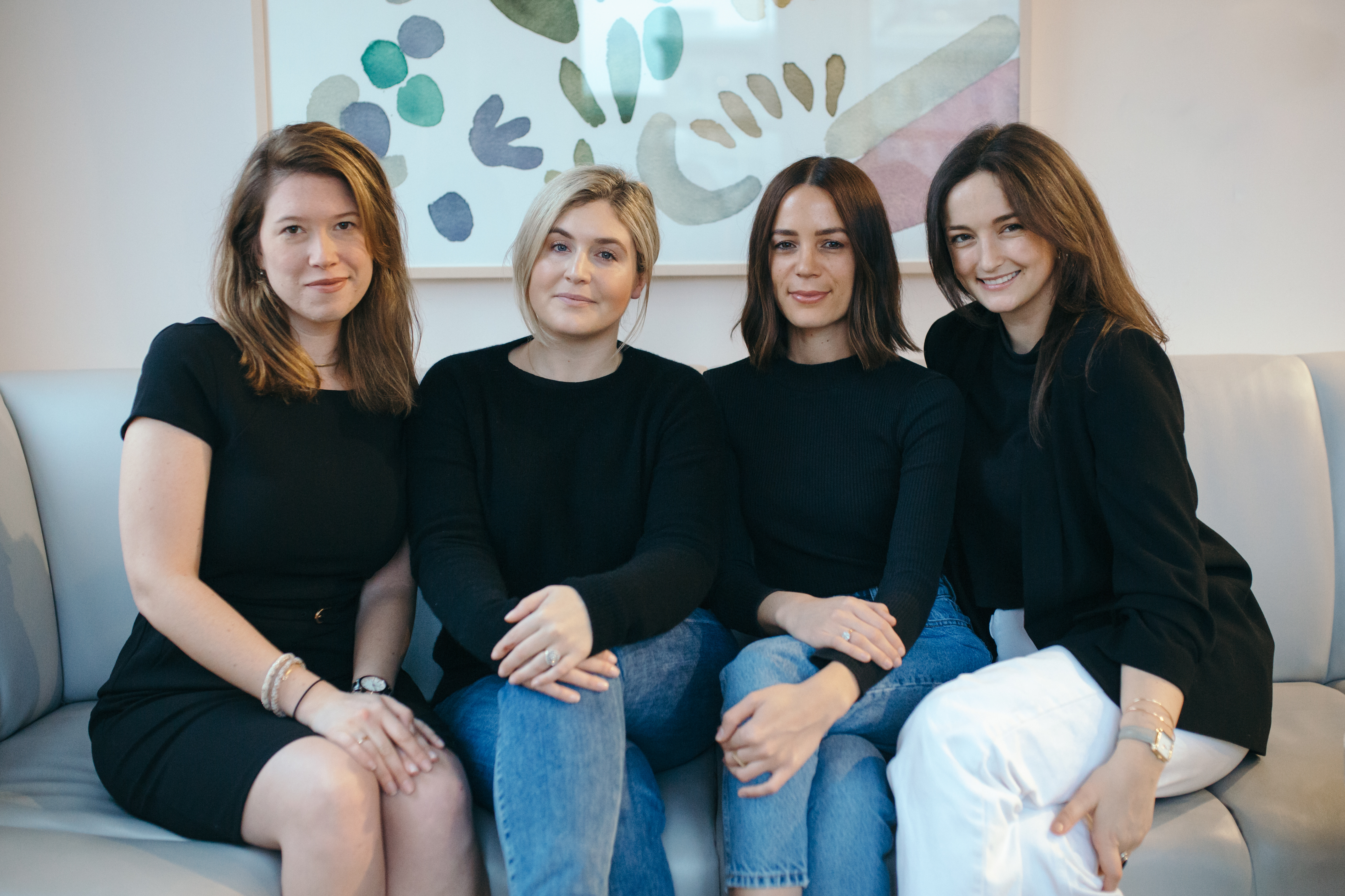 Maison D'Enfants team of staff women in business New York