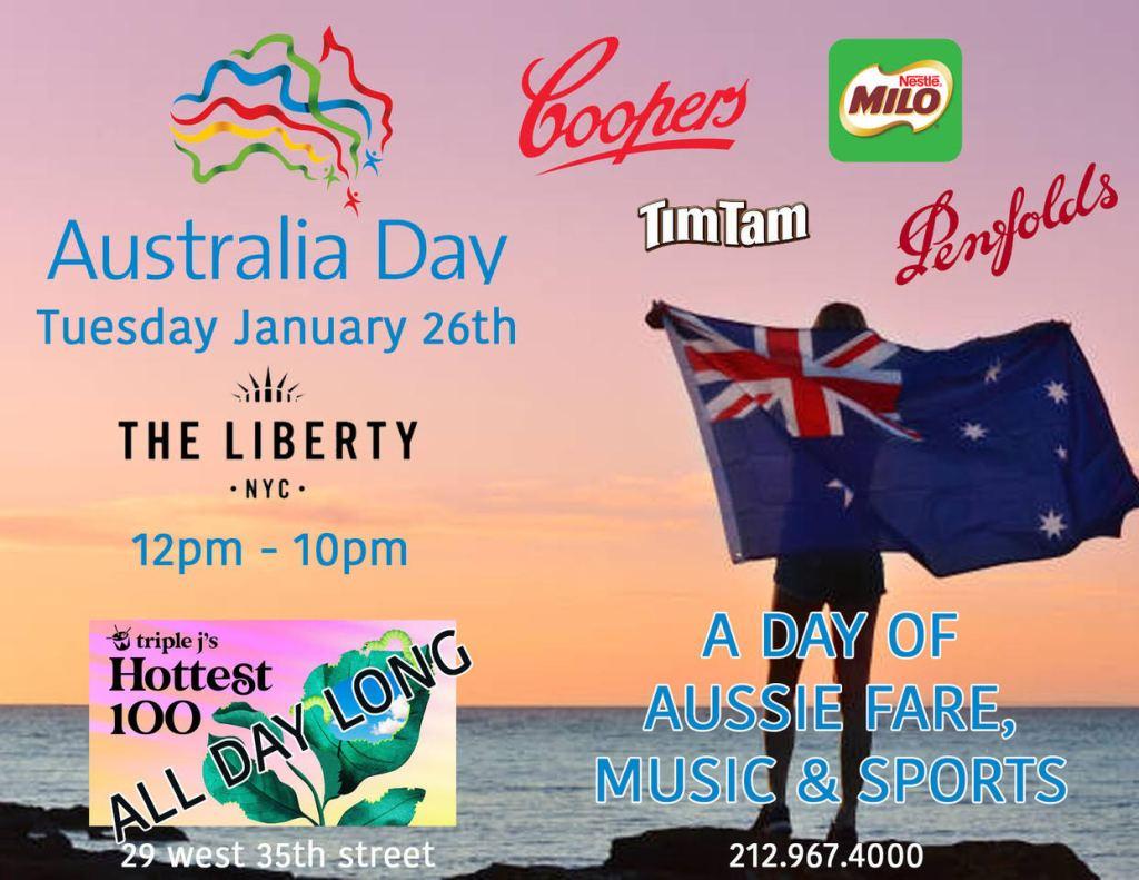 The Liberty NYC Australia Day 2021